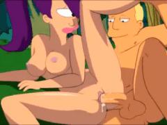 Futurama – vymrdaná Leela