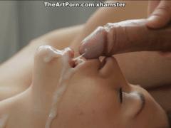 Masáž s análkem zakončená stříkáním