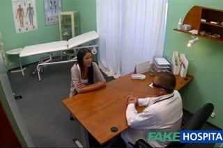 amatéři com fake hospital