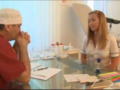 Ludmila u gynekologa (HD)