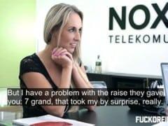 Šukání v české kanceláři – Jana (HD)