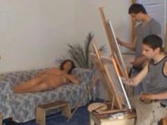 Dva čeští malíři ojedou jejich objekt – zralou ženskou