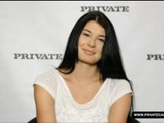 První casting české pornoherečky Lucy Li