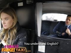 Česká taxikářka ošuká španělského pilota