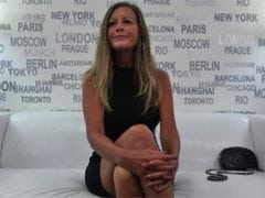 Česká čtyřicítka Karolína na porno castingu