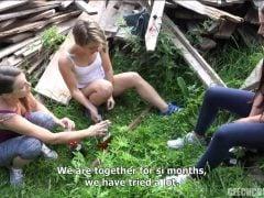 Šílená česká čtyřka v přírodě