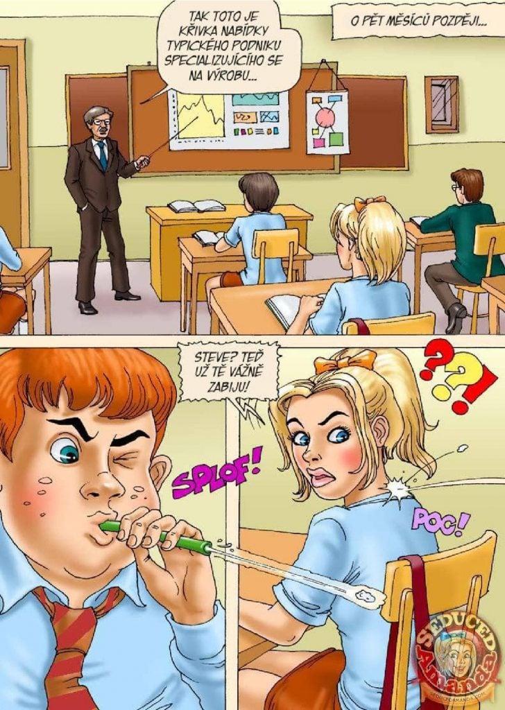 klasické porno komiksy