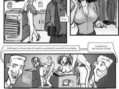 Kreslené porno komiksy