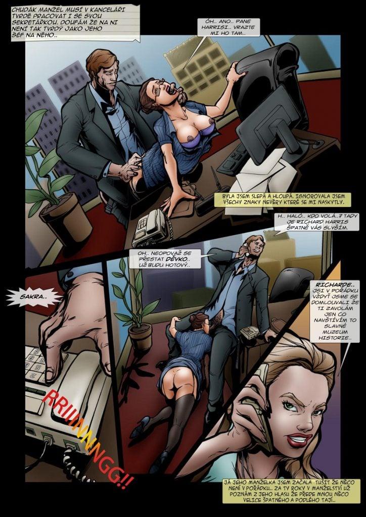 Gay porno komiksy