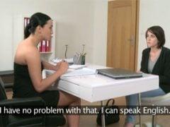 Česká herečka Ana Bell Evans na rozhovoru u agentky
