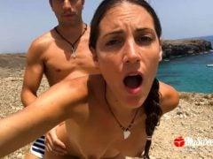 Amatérský sex na nudistické pláži