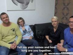 Vzrušující česká výměna manželek