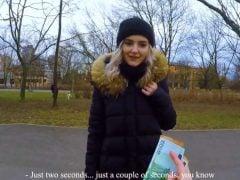 Rychlý prachy – sbalil ruskou instagramerku v parku