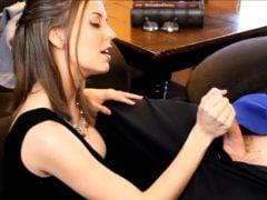 Sexuální terapeutka vyhoní svého klienta