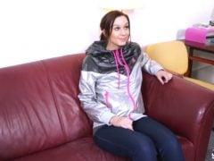 Osmnáctiletá Veronika poprvé před kamerou
