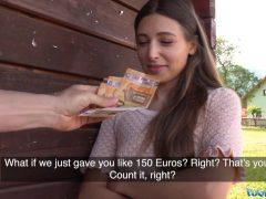 Rychlý prachy se sexy Ukrajinkou
